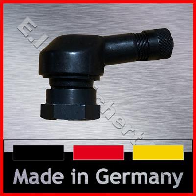 PKW Metallventil Ventilkit für Sens.it-Sensoren schwarz Kugelkalotte 12° 40°